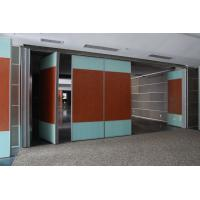Quality Hotel Banquet Hall Modular Rolling Decorative Acoustic Screens and Room Dividers for sale