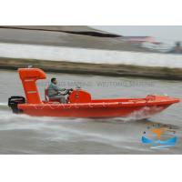 Quality Fast Lifeboat Rescue Boat DNV Certificated Corrosion Resistance 6.0-7.3m Length for sale