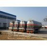 Buy cheap Liquid / Fuel Transportation Fuel Tanker Trailer Q235/6mm Steel Sheet from Wholesalers