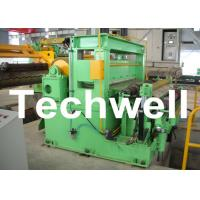 Quality Stainless Steel Coil Slitting Cutting Line With Uncoiler, Feeder & Level, Slitter, Recoiler for sale