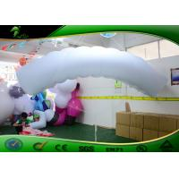 Quality 3M PVC 0.18 Inflatable Air Dancers White Parachute Shapes Model For Advertising for sale