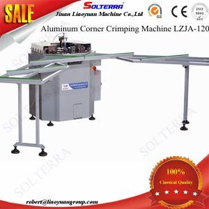 Quality Aluminium Windows Single head Corner Crimping Machine LZJA-120 for sale