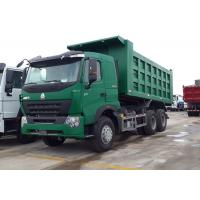 30 - 40 Ton Dump Truck A7-W Luxury Cabin ZF8118 Left Driving Driving Steering