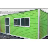 Quality Green Living Modular Container Homes / Mobile Prefabricated Container Architecture for sale