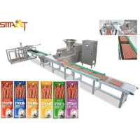Quality Protein Packed Meat Snack Processing Pet Making Machine For Dog Stick Food for sale