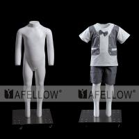 Quality Wholesale full body no head kid adjustable ghost mannequin torso for sale