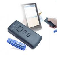 China Portable Wireless Bluetooth CCD Barcode Scanner PT20 For Mobile/tablet/PC on sale