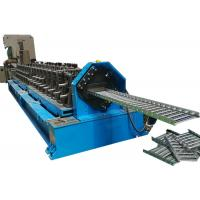 Quality Steel Supermarket Shelf Roll Forming Machine With Online Punching for sale