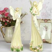 Quality Angel polyresin candle holder wedding gifts for sale