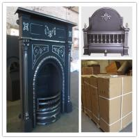 Quality price for cast iron indoor fireplace for sale