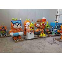 China Home Decoration Gift Fiberglass Cartoon Characters With Painting Surface for sale