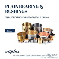 China SAE-797 / CuPb10Sn10 | Bimetal Bearings - VIIPLUS SELF-LUBRICATING BRONZE BUSHING on sale