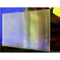 Quality Clear Linear Textured Acrylic Sheet for sale