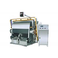 Quality Semi Auto Corrugated Carton Box Making Machine , Flat Creasing Die Cutting Machine For Corrugated Boxes  for sale