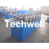 Buy 0.4 - 1.0mm U Runner Stud Roll Forming Machine With Guiding Column Forming at wholesale prices