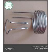 China ANNAI Spiral Industrial Heating Element Water Immersion Tubular Heater on sale