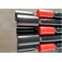 Quality Forging Threaded Drill Rod / Mining Drill Rods For Road Construction Hole Drilling for sale