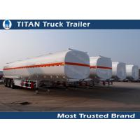 Quality 3 Axles 45000 liters 5 compartments fuel tanker trailer for oil transportation for sale