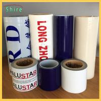Quality Removable Adhesive Transparent Film , Self Adhesive Clear Plastic Film For Cars for sale