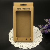China 2015 Custom Kraft Boxes With Clear PVC Window on sale