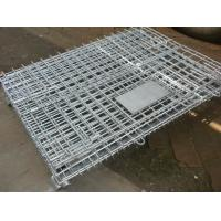 Quality Storage Cage,Wire Mesh Container,Supermarket Mesh Container,Mesh Basket,50x50mm,50x100mm opening for sale