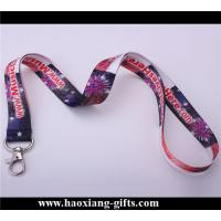 Quality Professional Cheap custom sublimation printing neck lanyards no minimum order for sale