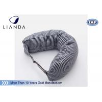 Quality Car Accessories Gray Neck Travel Pillow , Memory Foam Head Pillow With Different Color for sale