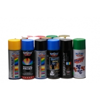 Quality Metallic Green Acrylic Spray Paint Fast Drying Spray Paint For Metal for sale