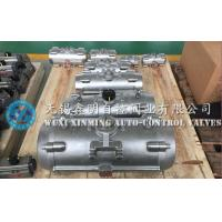 Quality 316 / 304  stainless steel rack pinion quarter-turn pneumatic rotary actuators for valves for sale
