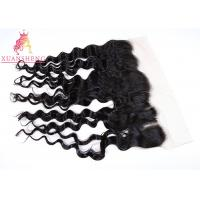 Quality 13x4 Frontal Closure Loose Wave Lace Front Closures For Body Weaving for sale