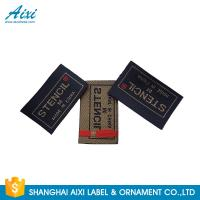 Quality Clothes Brand Woven Clothing Label Tags , Customized Garment Private Lable for sale