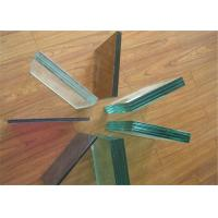 Quality Safety Tempered PVB Laminated Glass 12mm 16mm Thickness For Construction for sale