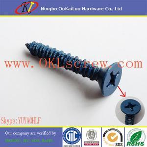 Buy cheap Phillips Flat Head Masonry Tapcon Screws from Wholesalers