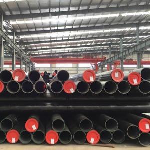 Quality Longitudinally Electric Welded Erw Steel Line Pipe 530-1420mm Diameter TU 14-156-77-2008 for sale