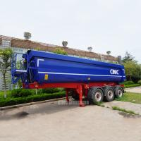 Quality Hydraulic dump trailers 25m3 tipper trailer tri axle tipping trailer for sale for sale