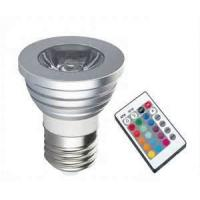 Quality Energy saving White color 110 - 240V AC RGB led strobe spotlight 3w 5w for sale