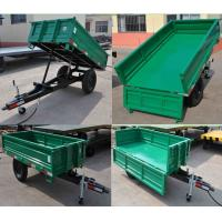 China Agricultural small tractor 4 wheel farm trailer for sale for sale