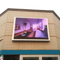 China 6000 Nit Outdoor Advertising LED Display , Outdoor Led Billboard Video Wall on sale