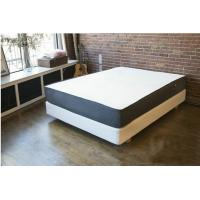 Quality 12 Inch Natural Latex Gel Memory Foam Bed Mattress Polyester Knitted / Suede Fabric for sale