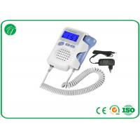 Quality High Fidelity Portable Fetal Doppler , Ultrasonic Fetal Heart Rate Doppler for sale