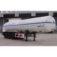 Quality 24000L-3 axles-Cryogenic Liquid Lorry Tanker for Liquid Oxygen for sale