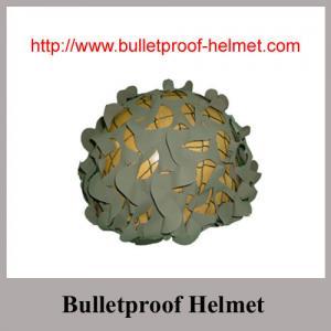 Option colors Bulletproof Helmet with ballistic aramid fabric