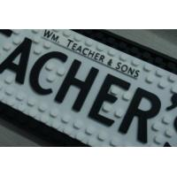 Buy cheap Eco Friendly Black Square Bar Counter Mat , Personalised Bar Runners from wholesalers