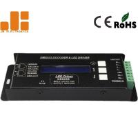 Buy cheap DMX512 Decoder LED Dimmer Controller With RJ45 Pluggable Terminals 300g from wholesalers