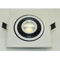Quality IP45 COB Led Ceiling Downlights 90-95lm / W High Power Led Downlight for sale