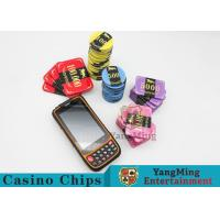 Quality 13.56MHz RFID Casino Chips Handheld Portable Terminal PDA Reading Writing Collector for sale