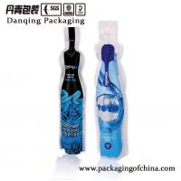 Buy cheap Bottle shape plastic bags, injection doypack for water&juice Customized from wholesalers