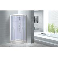 Quality Cheap , Popular luxury shower cabin ,  Chrome Aluminium Quadrant Shower cabin for sale