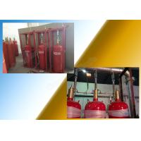 Buy cheap Heptafluoropropane 5.6Mpa Fm200 Gas Suppression System With Pipeline from wholesalers
