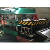 Quality Warehouse Storage Rack Roll Forming Machine , 21.5kw Roll Former MachineCr12 Roller for sale